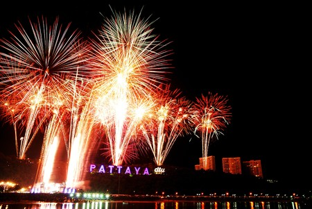 countdown at Pattaya (public domain) Stock Photo - 7029803