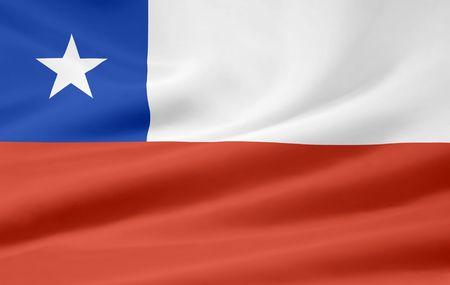 チリの国旗 写真素材 - 6640712