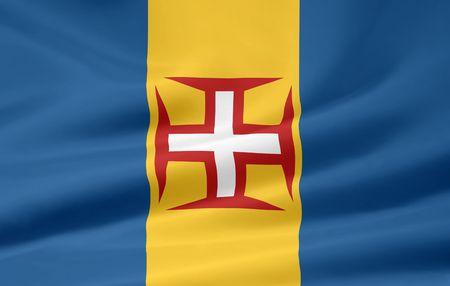 Flag of Madeira Stock Photo - 6640727