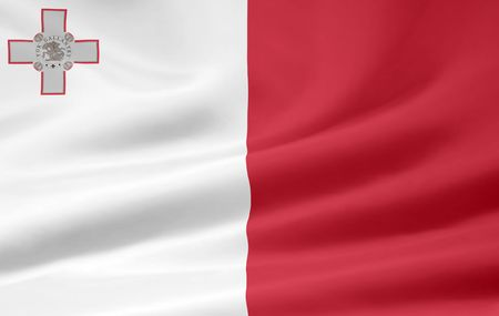 Flag of Malta Stock Photo - 6640710