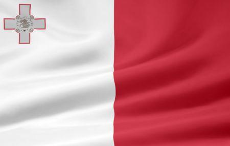 Flag of Malta Stock Photo - 6640710