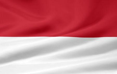 Flag of Monaco Stock Photo - 6640719