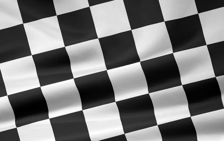 Racing Flag Stock Photo - 6640705