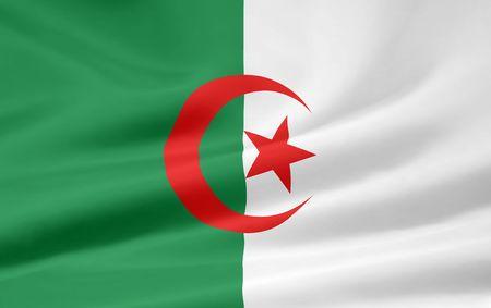 Flag of Algeria Stock Photo - 6640706