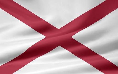 Flag of Alabama Stock Photo - 7003193