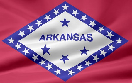 Flag of Arkansas Stock Photo - 7003208