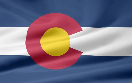 Flag of Colorado Stock Photo - 7003191