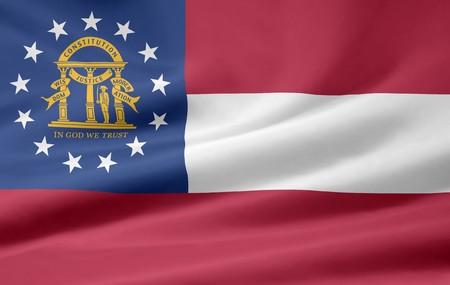 Flag of Georgia Stock Photo - 7003204