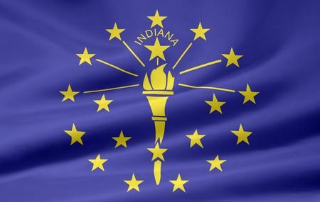 Flag of Indiana Stock Photo - 7003202