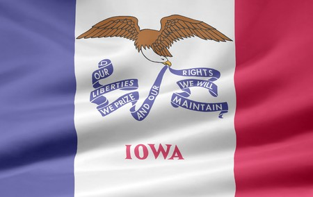 Flag of Iowa Stock Photo - 7003209