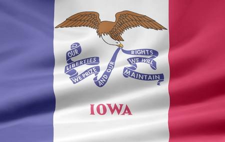 Flag of Iowa Stock Photo - 7003209