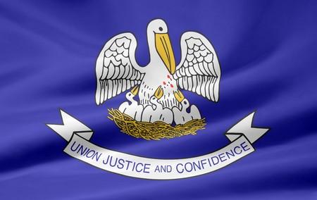 Flag of Louisiana Stock Photo - 7003274