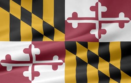 Flag of Maryland Stock Photo - 7003203
