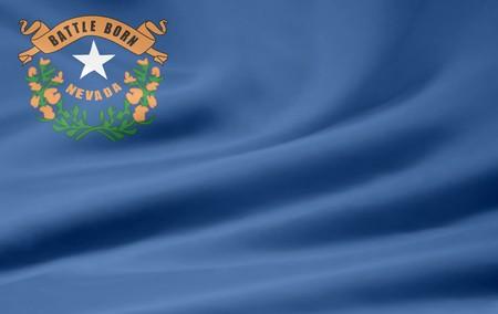 Flag of Nevada Stock Photo - 7003197