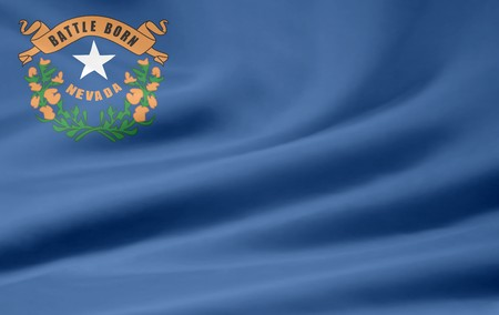 carson city: Flag of Nevada