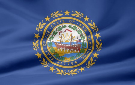 Flag of New Hampshire Stock Photo - 7003278