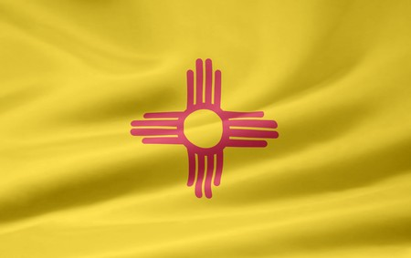 Flag of New Mexico Stock Photo - 7003192