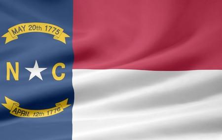 Flag of North Carolina Stock Photo - 7003196