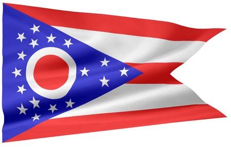 Flag of Ohio Stock Photo - 7003199