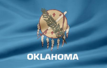 Flag of Oklahoma Imagens