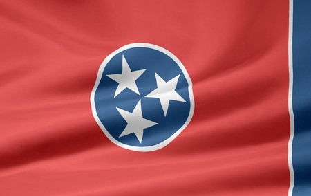 Flag of Tennessee Stock Photo - 7003195