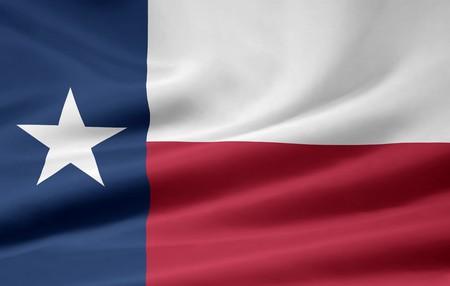 austin: Flagge von Texas