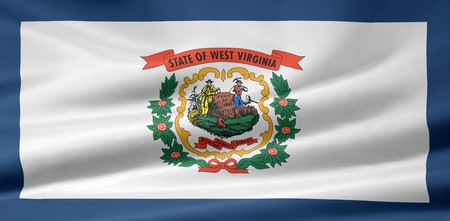 Flag of West Virginia Stock Photo - 7003226