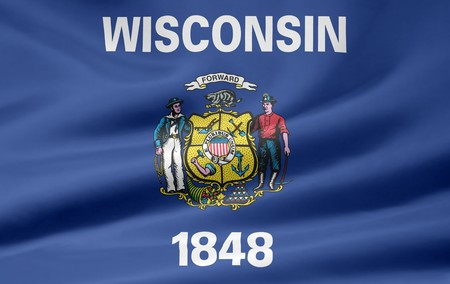 Flag of Wisconsin photo