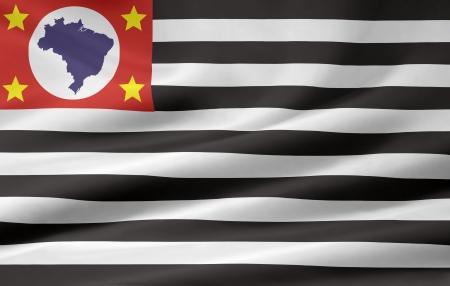 Flag of Sao Paulo - Brasil photo