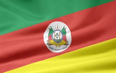 Flag of Rio Grande do Sul - Brasil Stock Photo - 7755030