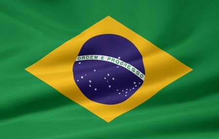 Flag of Brazil photo