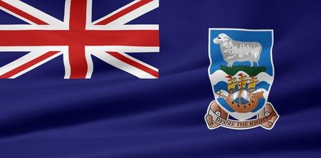 falkland: Flag of the Falkland Islands Stock Photo