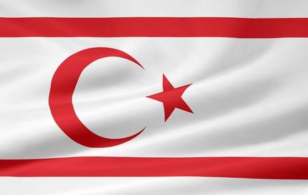 cyprus: Flag of Northern Cyprus Stock Photo
