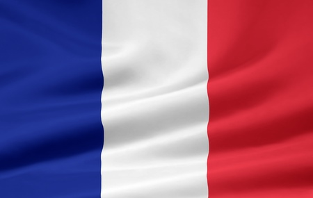 Flag of Francce Stock Photo - 8649407