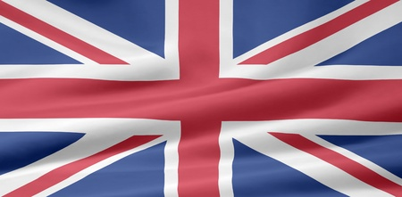 Flag of UK photo