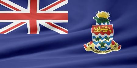 cayman islands: Flag of the Cayman Islands Stock Photo
