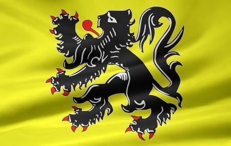 flanders: Flag of Flanders - Belgium