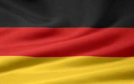 flag: Vlag van Duitsland Stockfoto