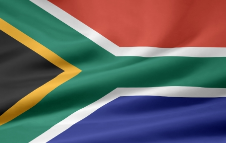Flag of South Africa photo