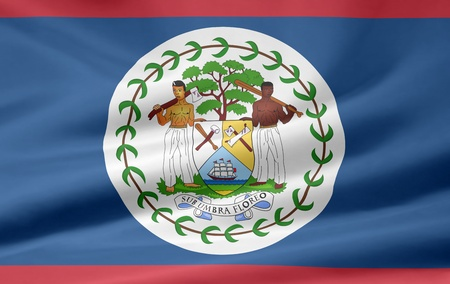 Flag of Belize photo