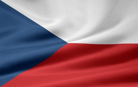Flag of the Czech Republic Stock Photo - 8639416