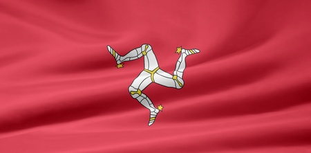british isles: Flag of the Isle of Man
