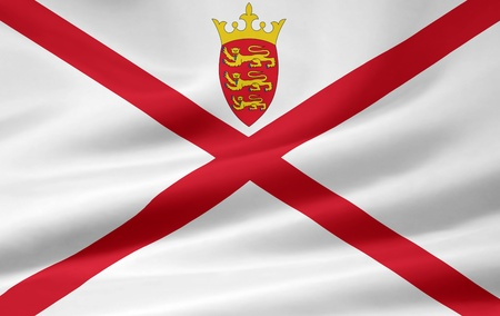 Flag of Jersey photo