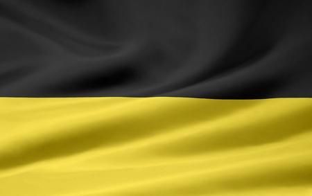 swabian: Flag of Baden Württemberg - Germany