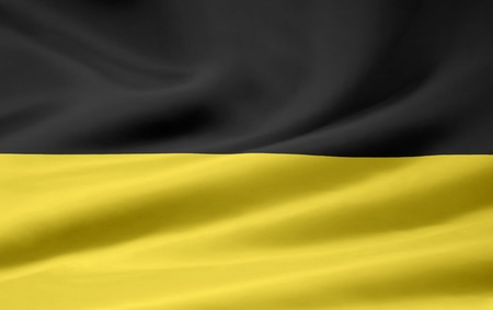 Flag of Baden Württemberg - Germany Stock Photo - 9150860
