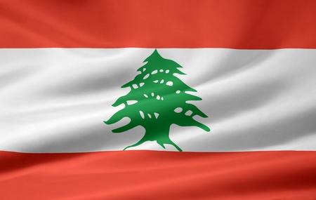 Flag of Lebanon Stock Photo - 8674468