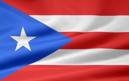 caribbean sea: Flag of Puerto Rico
