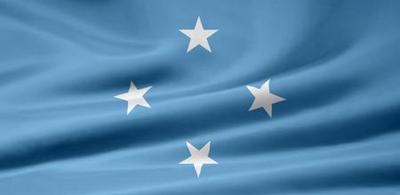 Flag of Micronesia Stock Photo - 9150786
