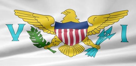 the virgin islands: Flag of the US  Virgin Islands