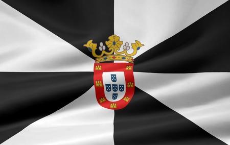 enclave: Flag of Ceuta